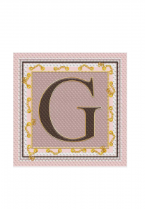 Foulard Guess Quadrato Logo 4G AW8685POL03  RSM -A.1