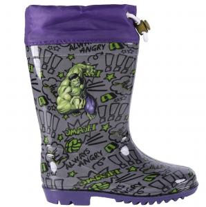 Stivali pioggia avengers Hulk