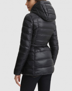 Giacca donna WOOLRICH ABBIE HOODED JACKET navy
