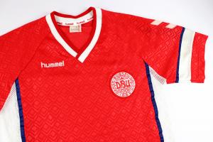 1990-92 Danimarca Maglia Home L (Top)