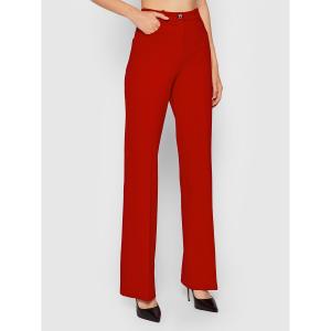 Pantalone Abha punto stoffa rosso Pinko