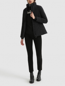 Giacca donna WOOLRICH FIRTH COAT BLACK
