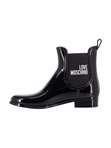 Love Moschino Stivaletto in PVC Nero