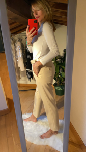 Pantalone a sigaretta Burro Vicolo