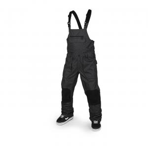Volcom Snowboard Roan Gore Bib Overall Grey