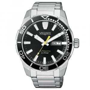 Vagary Acqua 39, Orologio Automatic, Quadrante nero