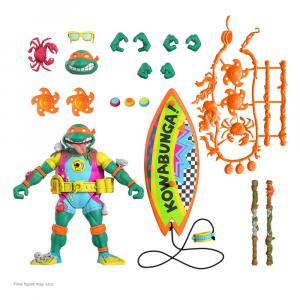 *PREORDER* Teenage Mutant Ninja Turtles Ultimates: SEWER SURFER MIKE by Super7