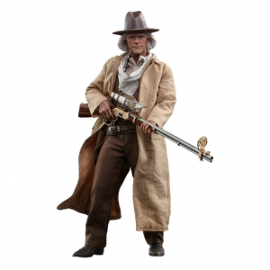 *PREORDER* Back To The Future III Movie Masterpiece: DOC BROWN 1/6 by Hot Toys