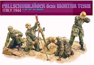 Fallschirmjäger 8cm Mortar Team