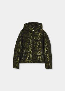 LIU JO TF1035T4963 Giacca camouflage con cappuccio