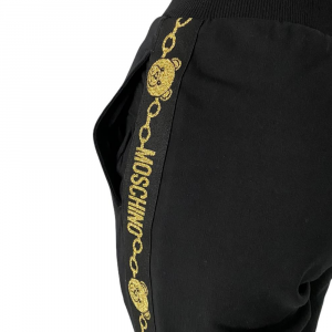 Moschino Pantalone Tuta Golden Bear Banda
