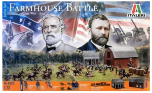 Farmhouse Battle American Civil War - 1864