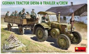 German Tractor D8506 & Trailer