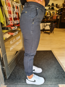Pantalone chino blu