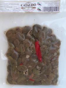 Oilve verdi Carolea Schiacciate a Mano Az. Agr, Cataldo 400 gr