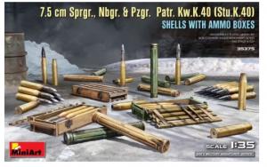 7.5cm Sprgr, Nbgr, & Pzgr. Patr. Kw.K.40 (Stu.K.40)
