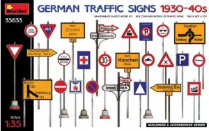 German Traffic Signs 1930-40s