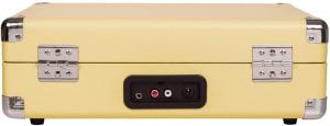 Crosley Cruiser Deluxe giradischi a valigetta color giallo beige con bluetooth IN
