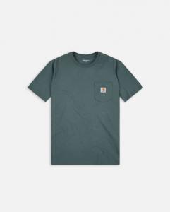 T-Shirt Carhartt Pocket Eucalyptus