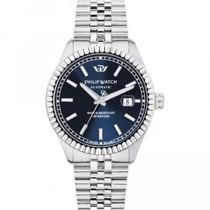 Philip Watch Caribe automatico, quadrante blu
