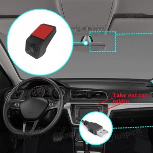 DVR DASH CAM per autoradio ANDROID HD mini registratore frontale USB 2.0 Digital Video Recorder