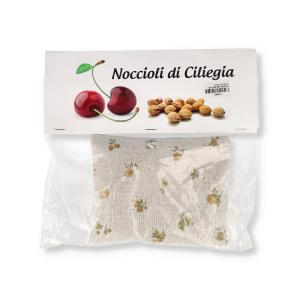 CUSCINO CON NOCCIOLI CILIEGIO PICCOLO 14X 16CM
