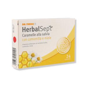 HERBALSEPT SALV CAMOMILLA E MIELE - 24 CPR