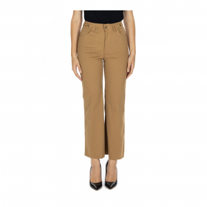 PANT.FLARE CROPPED H.W.