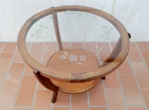 Tavolino vintage nello stile di Paolo Buffa