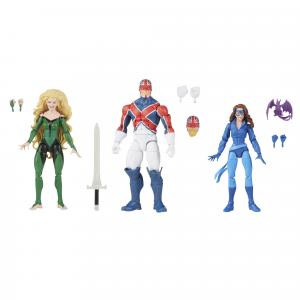 *PREORDER* Marvel Legends Excalibur: MEGGAN & CAPTAIN BRITAIN & SHADOWCAT by Hasbro