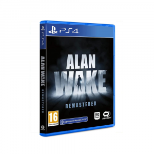 Alan Wake remastered - Nuovo - PS4 - preorder 15/10/2021