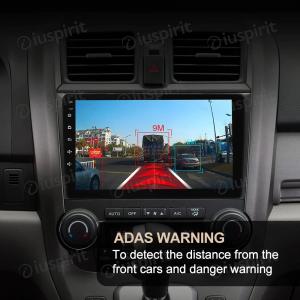 ADAS DVR FULL HD 1080P registratore video frontale auto DASH CAM per autoradio Android