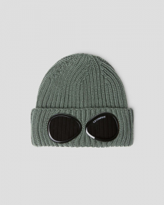 SHOPPING ON LINE CP COMPANY C.P.GOGGLE BEANNIE EXTRA FINE MERINOS WOOL NEW COLLECTION FALL/WINTER 2022-2