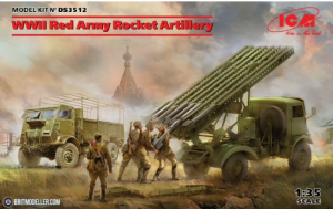WWII Red Army Rocket Artillery BM-13-16