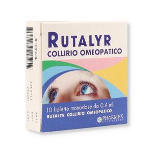 RUTALYR - COLLIRIO OMEOPATICO 10 FIALE