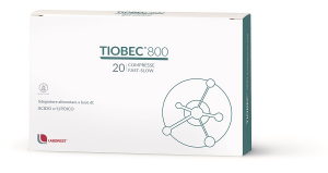 TIOBEC 800 - INTEGRATORE A BASE DI ACIDO ALFA-LIPOICO 800 MG 20 COMPRESSE