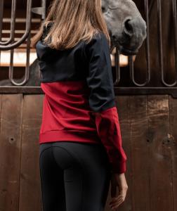 Eris - felpa donna equitazione e tempo libero