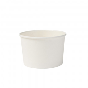 Coppetta cartoncino bio 125ml gelato bianco - ULTIMI PEZZI