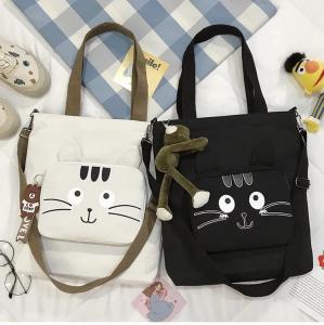 borsa tracolla con gatto