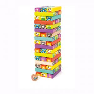Torre traballante Zoo colorato