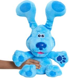 Blue's Clues & You - Peluche Blue Gioco del Cucù, con suoni, serie tv, per bambini dai 3 anni, Giochi Preziosi, BLU02100