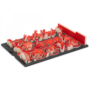 VisiJet® Wax Resin Cartridge Jewel RED