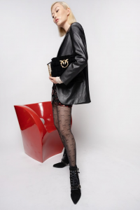 SHOPPING ON LINE PINKO BLAZER MASCHILE EFFETTO PELLE BISCOTTINI 6 NEW COLLECTION PREVIEW FALL WINTER 2022