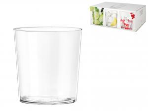 Bicchiere Starck In Vetro 350 Ml, Trasparente