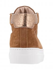 Stokton Sneakers in Camoscio Cuoio