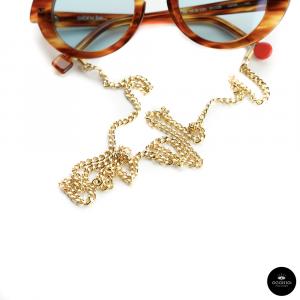 Catenella occhiali In metallo ORO