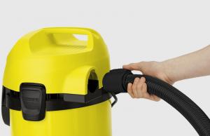 Kärcher WD 3 Brush Kit 17 L Aspiratore a cilindro Secco e bagnato 1000 W Sacchetto per la polvere