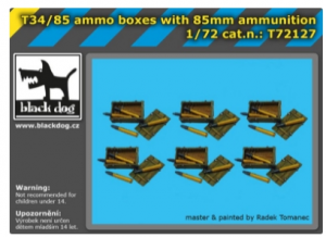 T34/85 ammo boxes