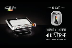 Rowenta GR712D Optigrill+ Bistecchiera Intelligente con 6 Programmi di Cottura Automatici