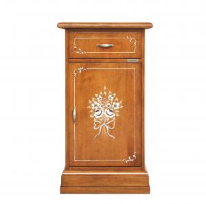 Meuble téléphone d'appoint classique - Collection Fleur